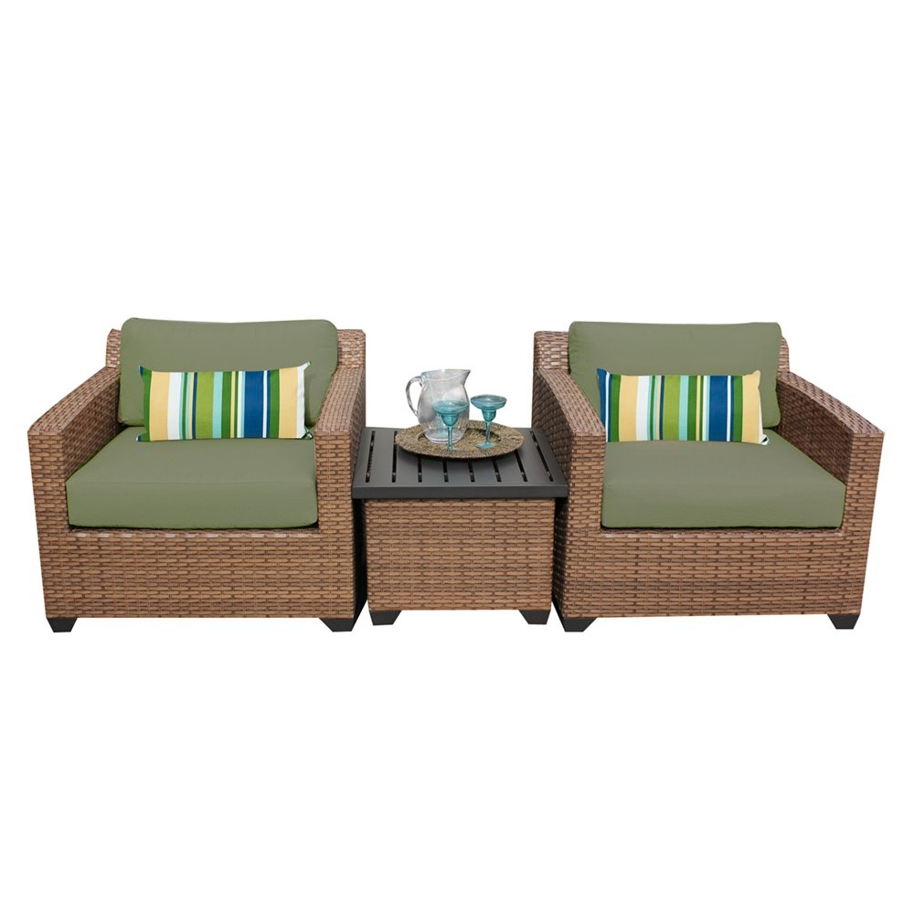 Outdoor lounge furniture CUB LAGUNA 03a CILANTRO TKC
