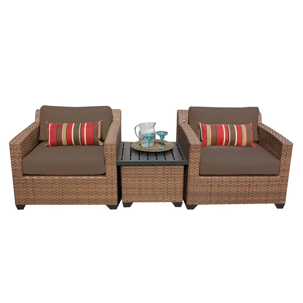Outdoor lounge furniture CUB LAGUNA 03a COCOA TKC