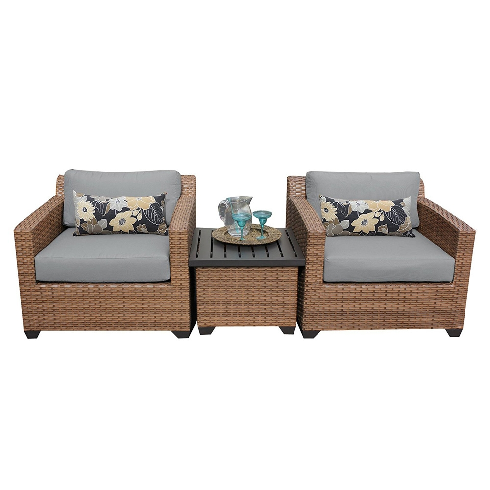 Outdoor lounge furniture CUB LAGUNA 03a GREY TKC