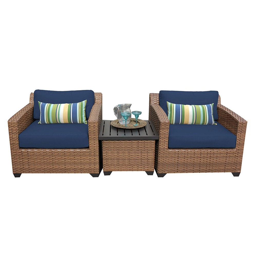 Outdoor lounge furniture CUB LAGUNA 03a NAVY TKC