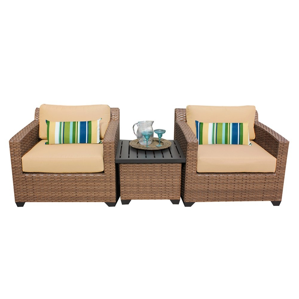 Outdoor lounge furniture CUB LAGUNA 03a SESAME TKC