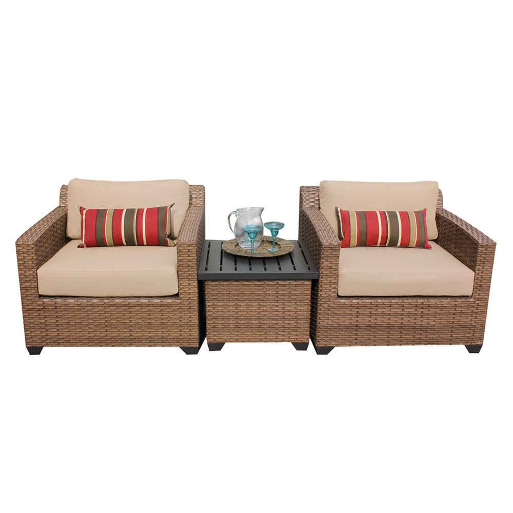 Outdoor lounge furniture CUB LAGUNA 03a WHEAT TKC