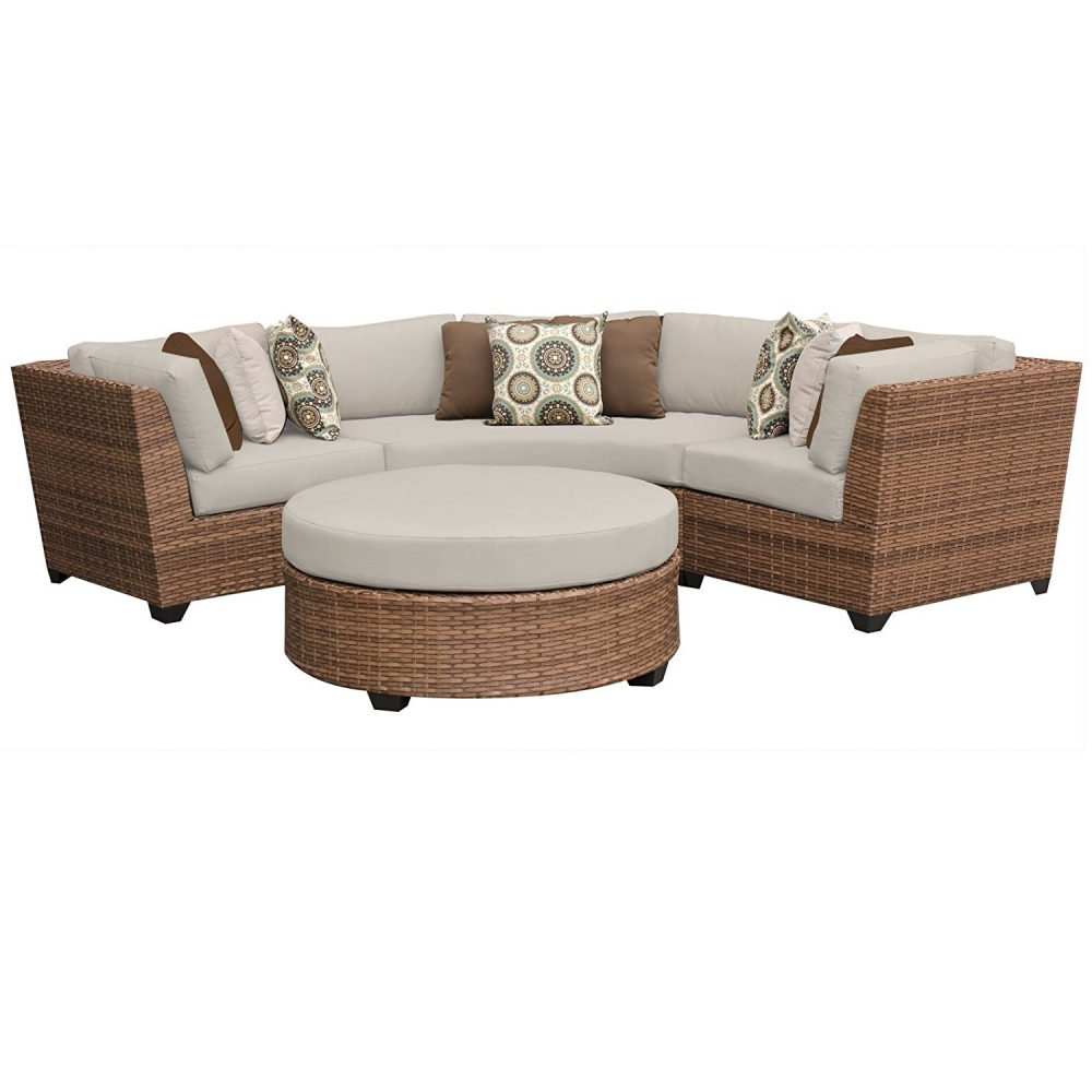 Outdoor lounge furniture CUB LAGUNA 04a BEIGE TKC