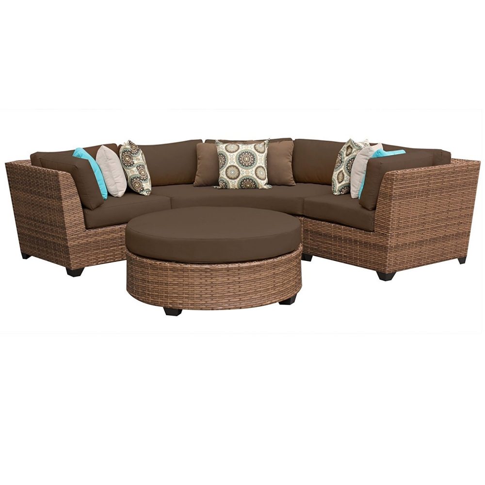 Outdoor lounge furniture CUB LAGUNA 04a COCOA TKC