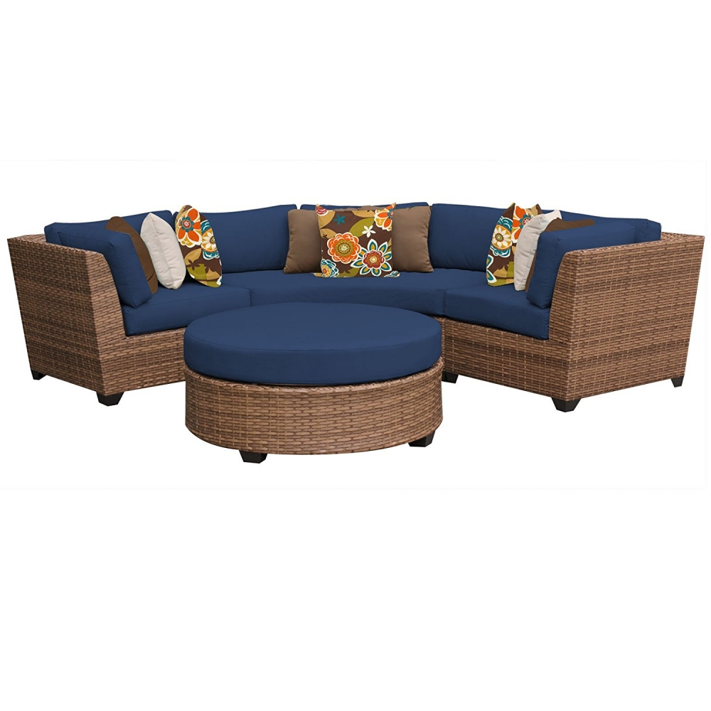 Outdoor lounge furniture CUB LAGUNA 04a NAVY TKC