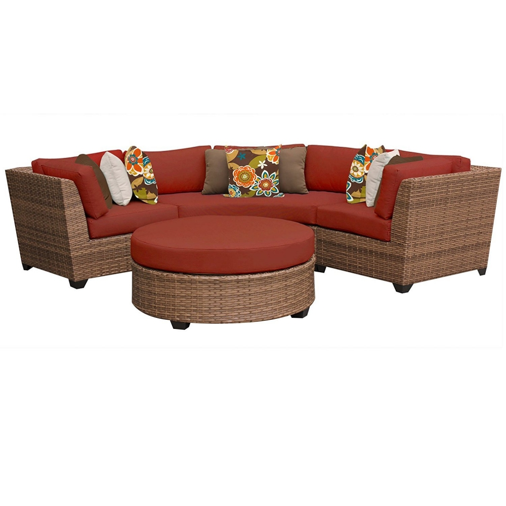 Outdoor lounge furniture CUB LAGUNA 04a TERRACOTTA TKC