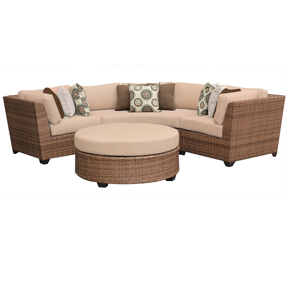 Outdoor lounge furniture CUB LAGUNA 04a WHEAT TKC