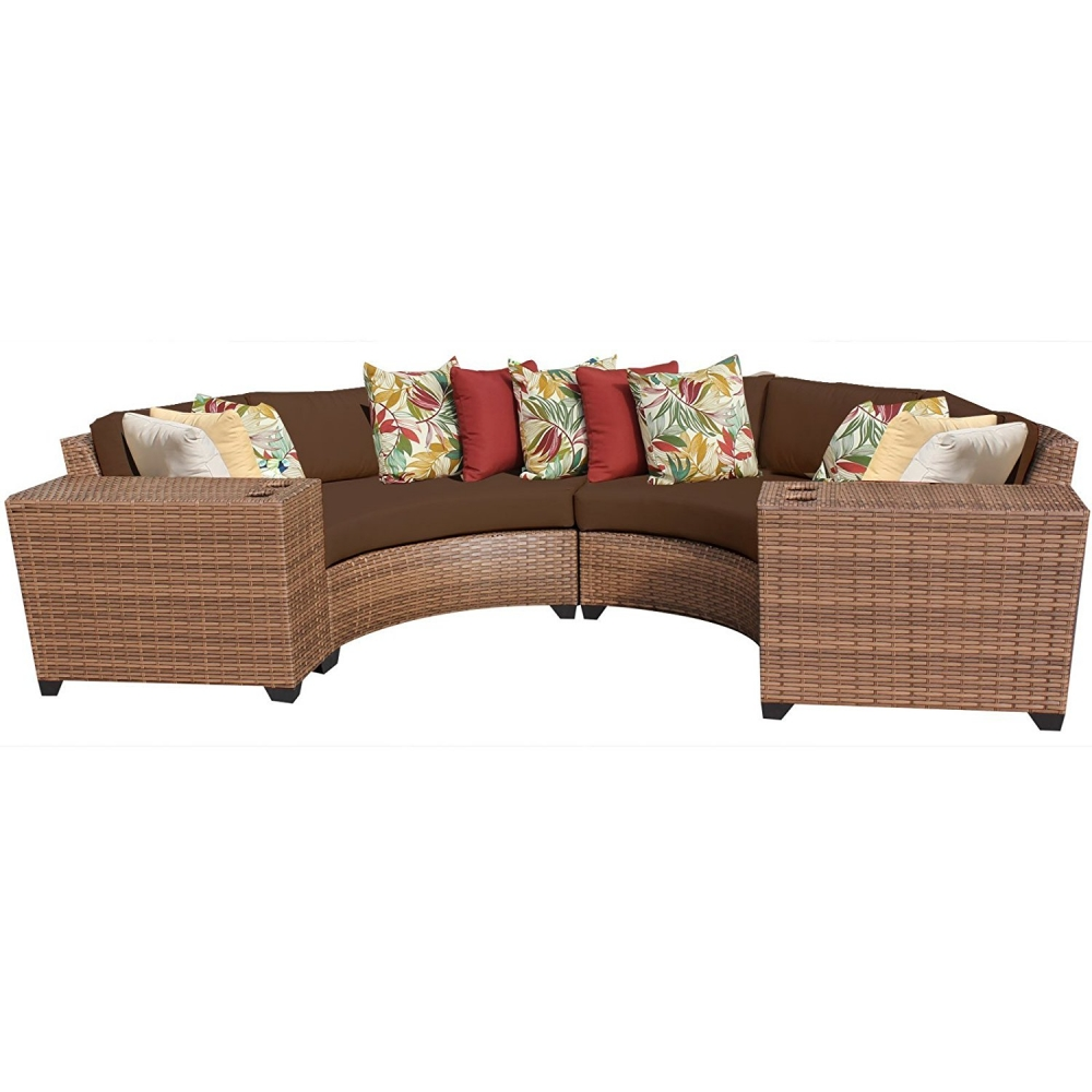 Outdoor lounge furniture CUB LAGUNA 04c COCOA TKC
