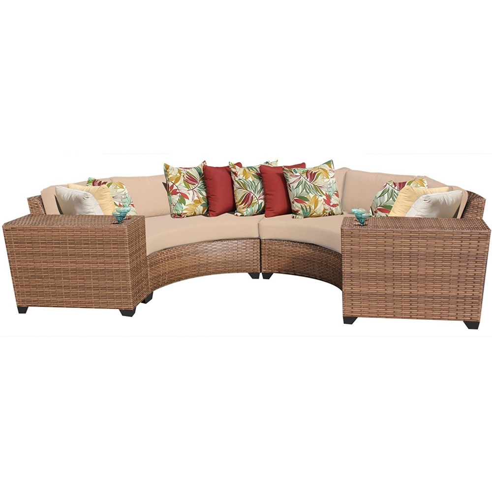 Outdoor lounge furniture CUB LAGUNA 04c WHEAT TKC