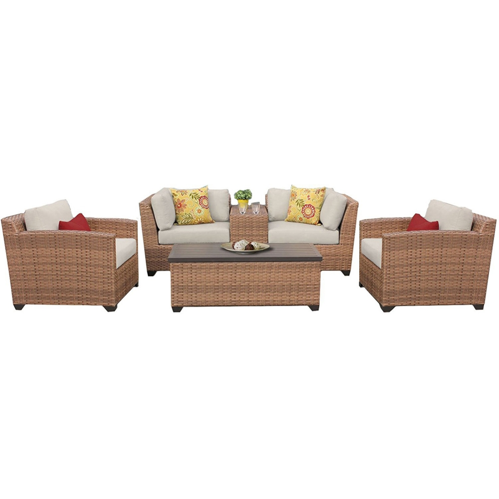 Outdoor lounge furniture CUB LAGUNA 06d BEIGE TKC
