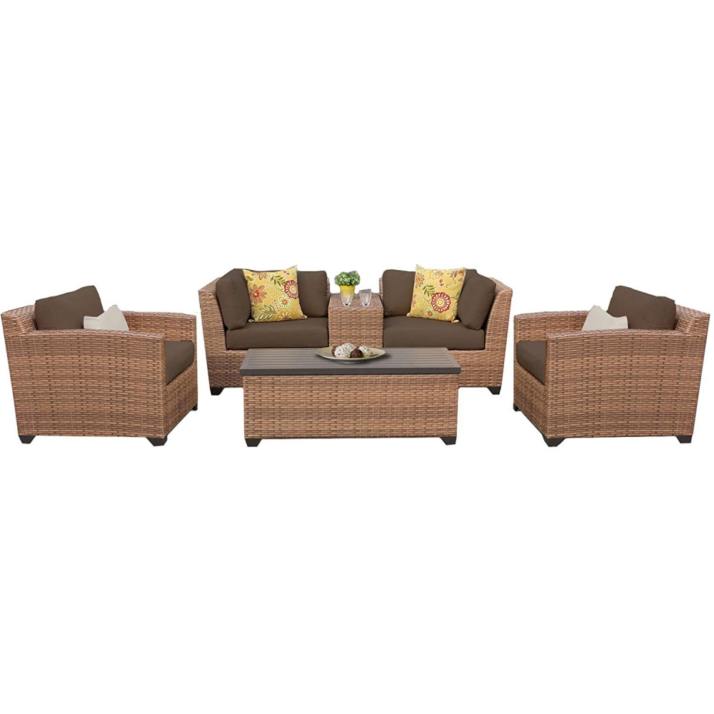 Outdoor lounge furniture CUB LAGUNA 06d COCOA TKC