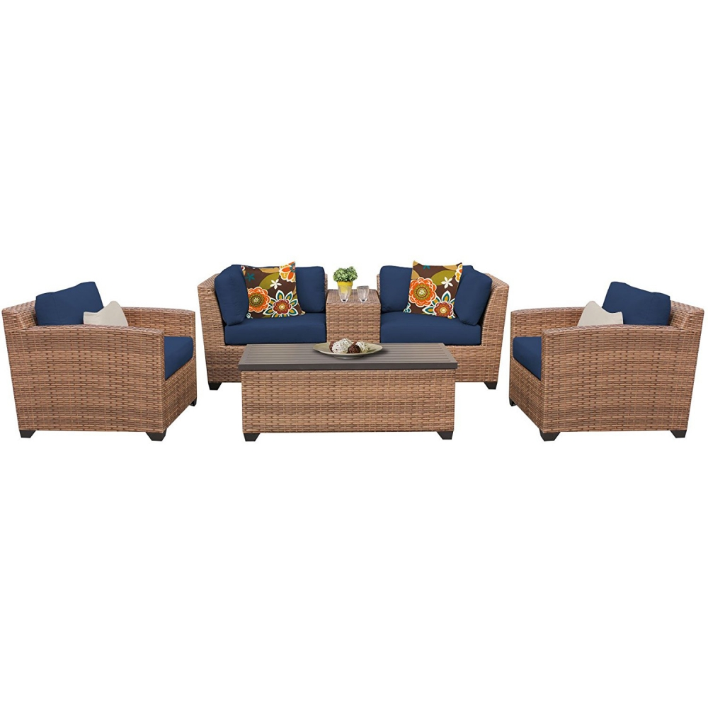 Outdoor lounge furniture CUB LAGUNA 06d NAVY TKC