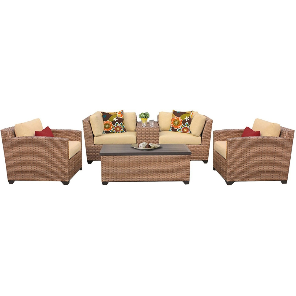 Outdoor lounge furniture CUB LAGUNA 06d SESAME TKC