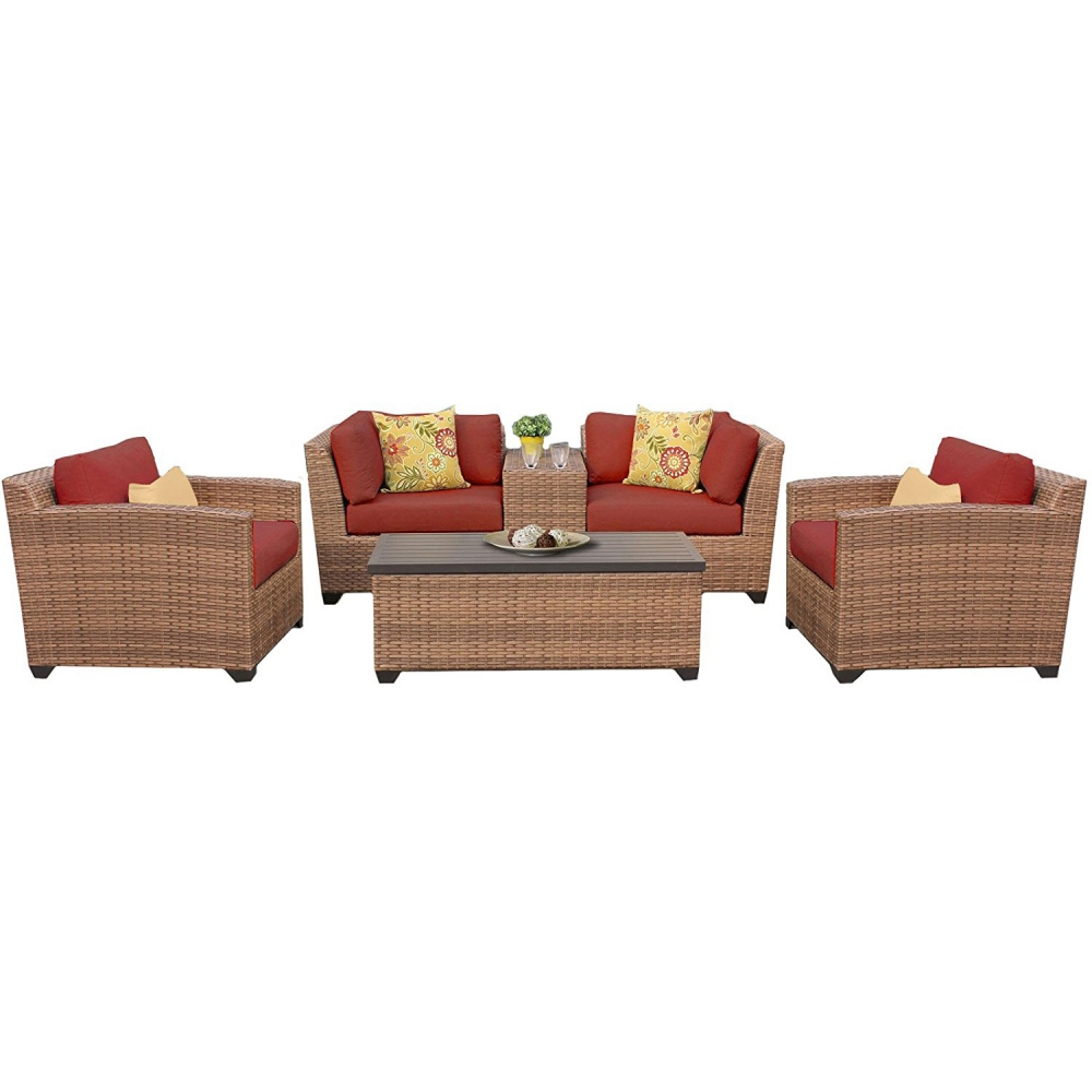 Outdoor lounge furniture CUB LAGUNA 06d TERRACOTTA TKC
