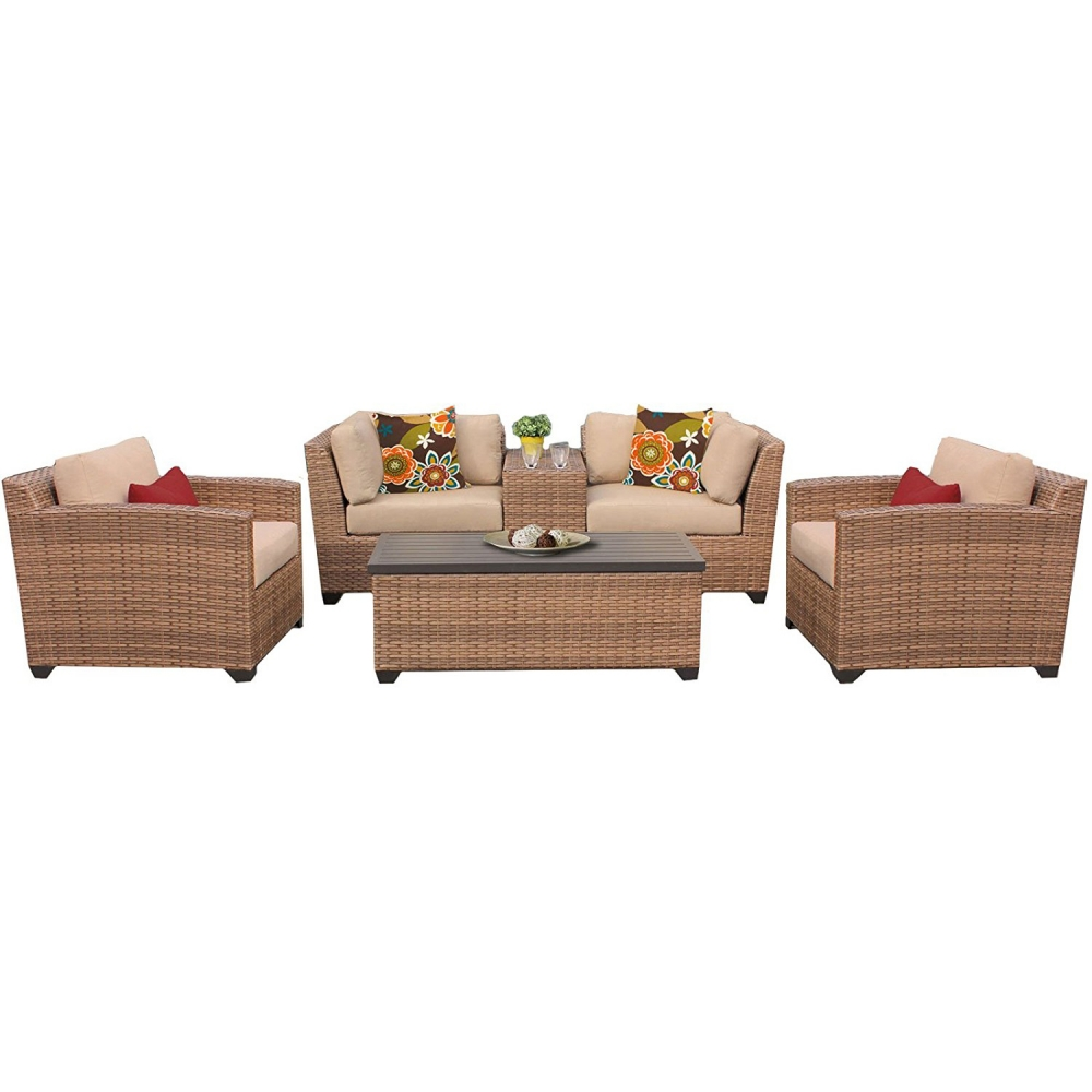 Outdoor lounge furniture CUB LAGUNA 06d WHEAT TKC