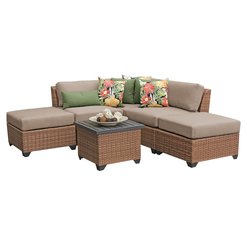 Outdoor lounge furniture CUB LAGUNA 06f BEIGE TKC