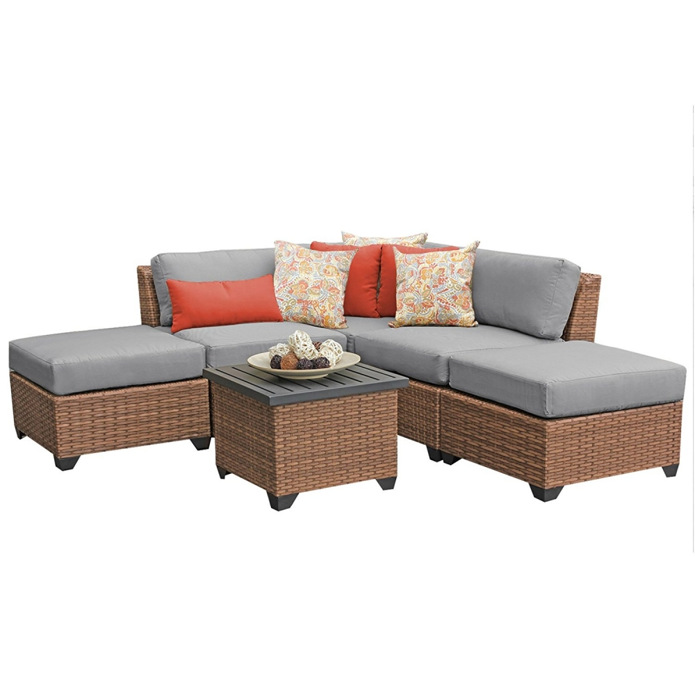 Outdoor lounge furniture CUB LAGUNA 06f GREY TKC