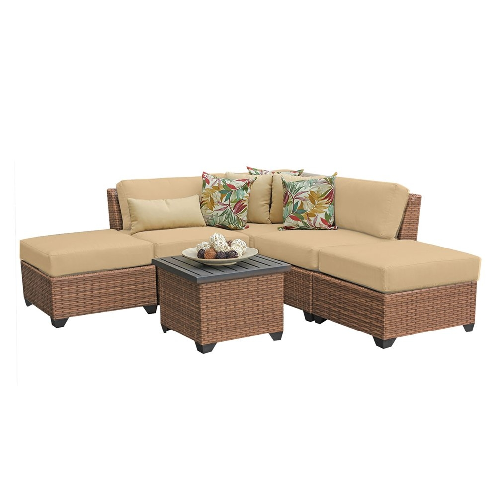Outdoor lounge furniture CUB LAGUNA 06f SESAME TKC