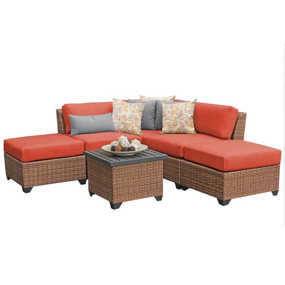 Outdoor lounge furniture CUB LAGUNA 06f TANGERINE TKC