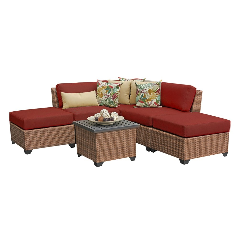 Outdoor lounge furniture CUB LAGUNA 06f TERRACOTTA TKC