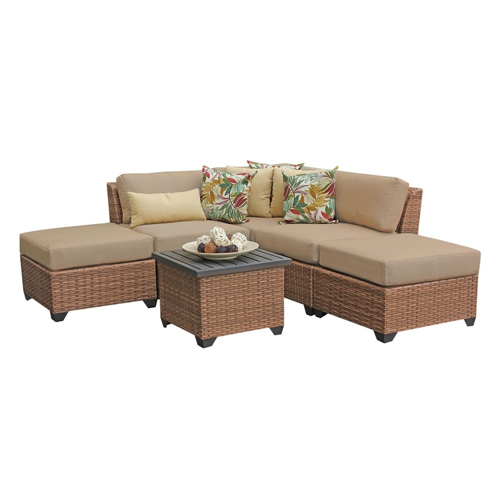 Outdoor lounge furniture CUB LAGUNA 06f WHEAT TKC