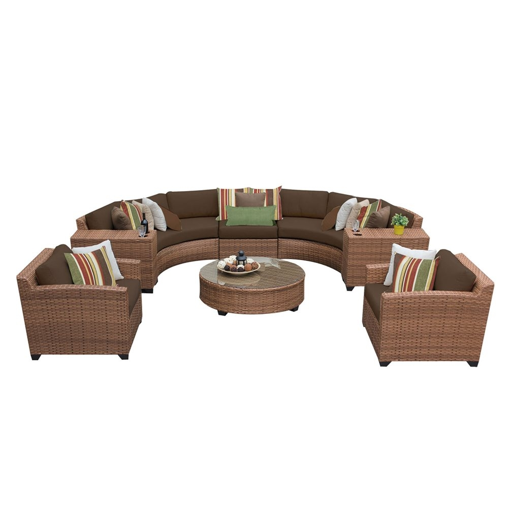 Outdoor lounge furniture CUB LAGUNA 08e COCOA TKC