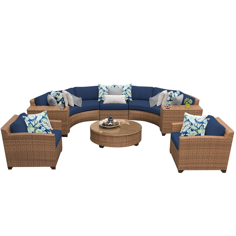 Outdoor lounge furniture CUB LAGUNA 08e NAVY TKC