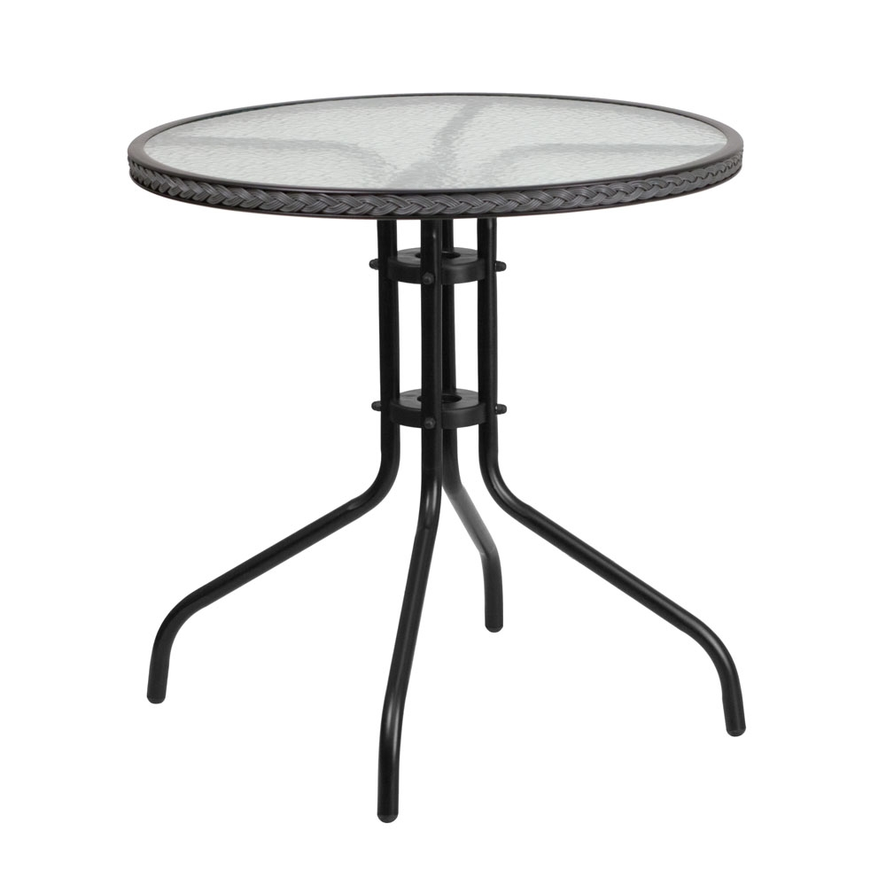 Outdoor patio table CUB TLH 087 GY GG FLA