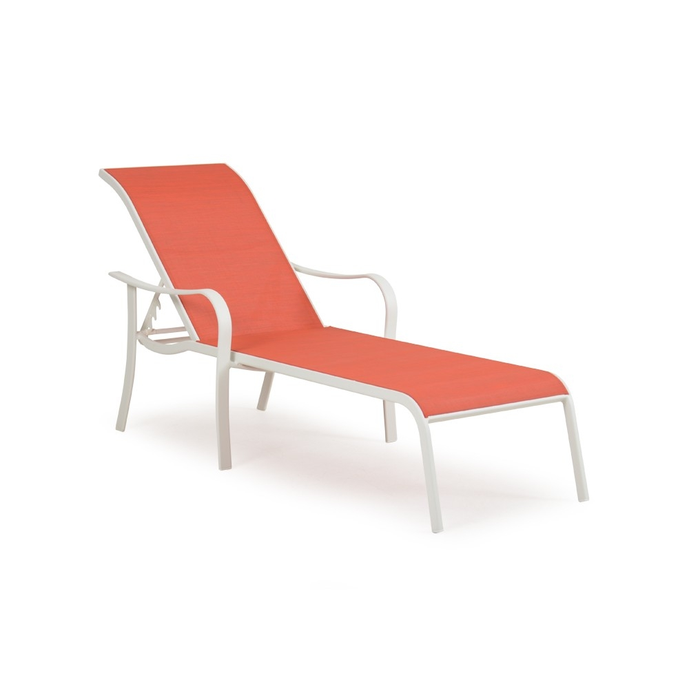 Naoma modern chaise lounge for Table et chaise moderne