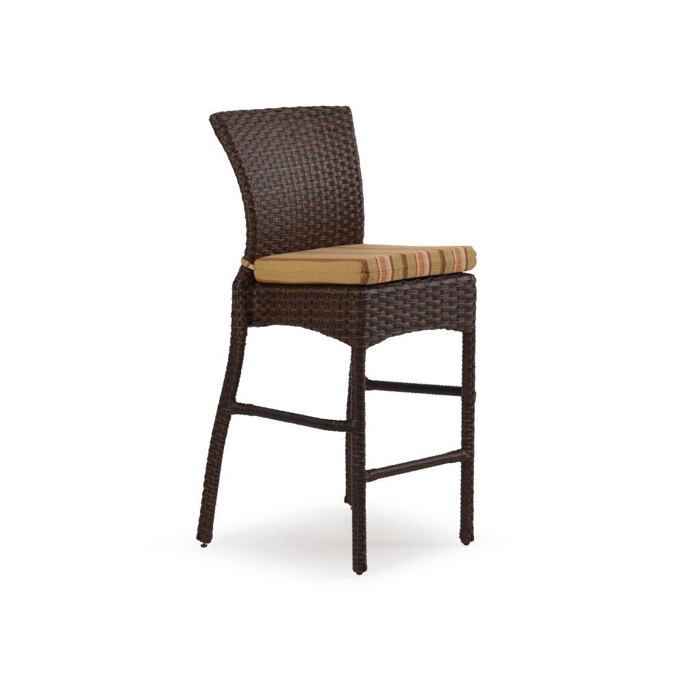 Ludie Tall Wicker Chair