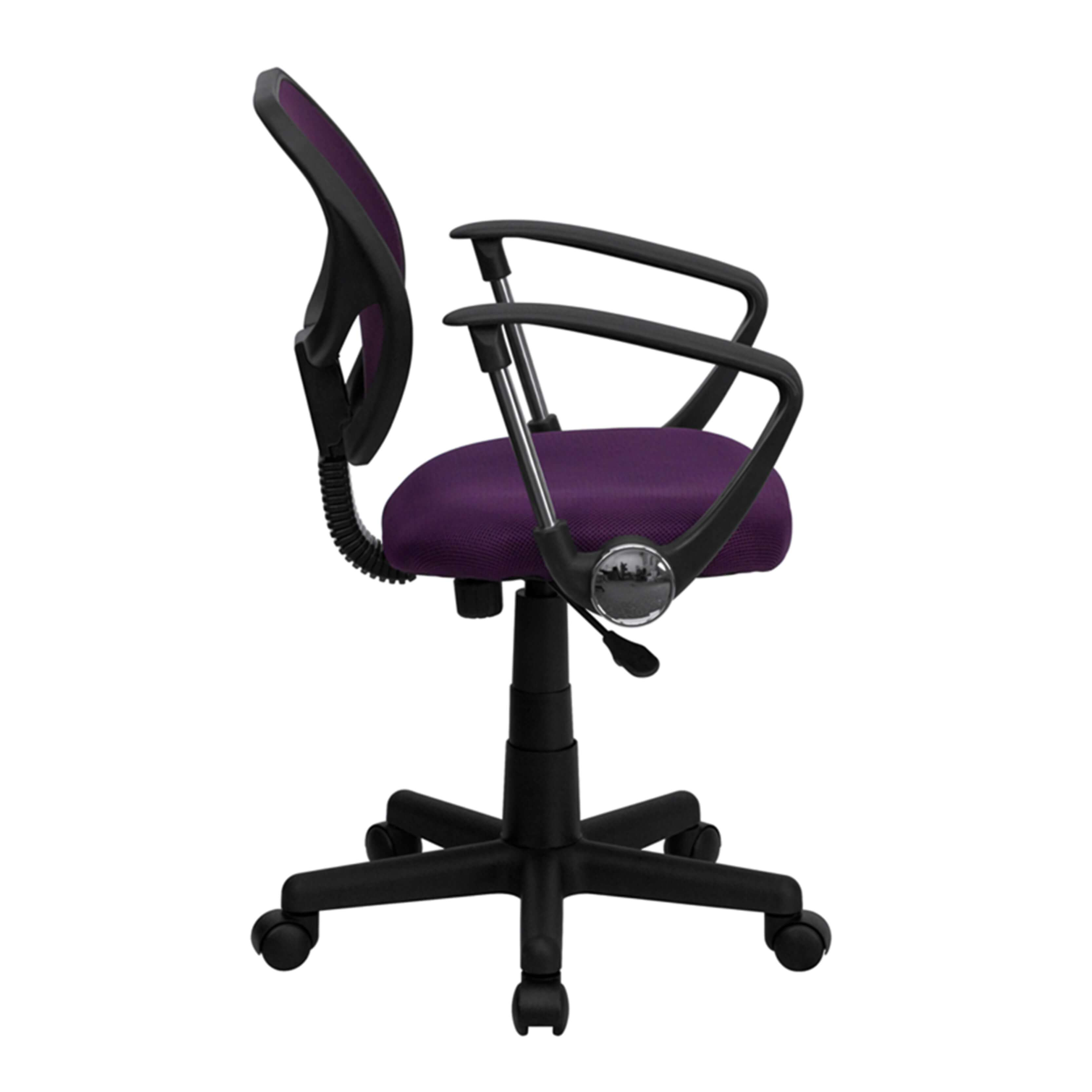 Petite office chairs side view