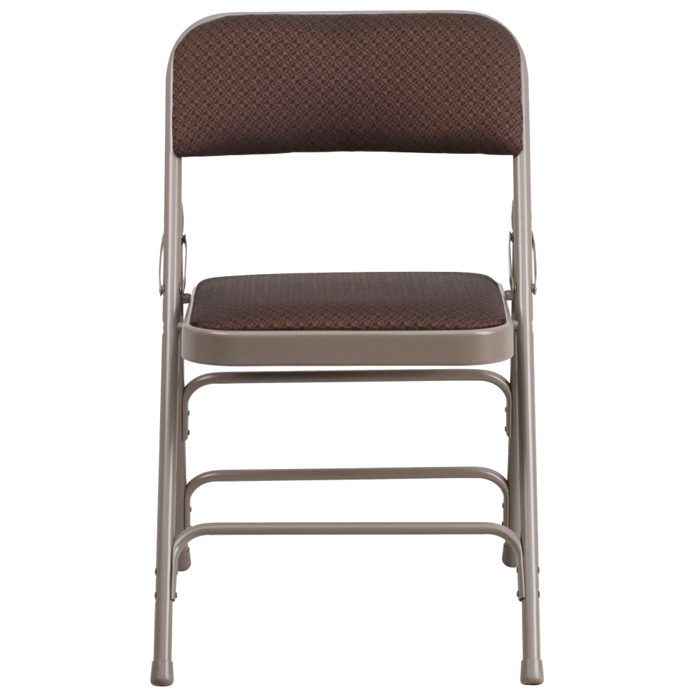 Portable folding chair CUB AW MC309AF BRN GG FLA