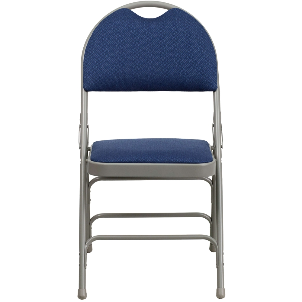 Portable folding chair CUB HA MC705AF 3 NVY GG FLA
