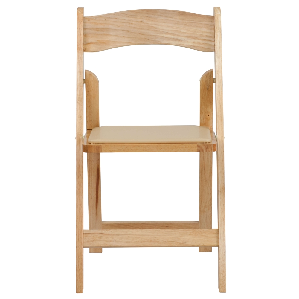 Portable folding chair XF 2903 NAT WOOD GG