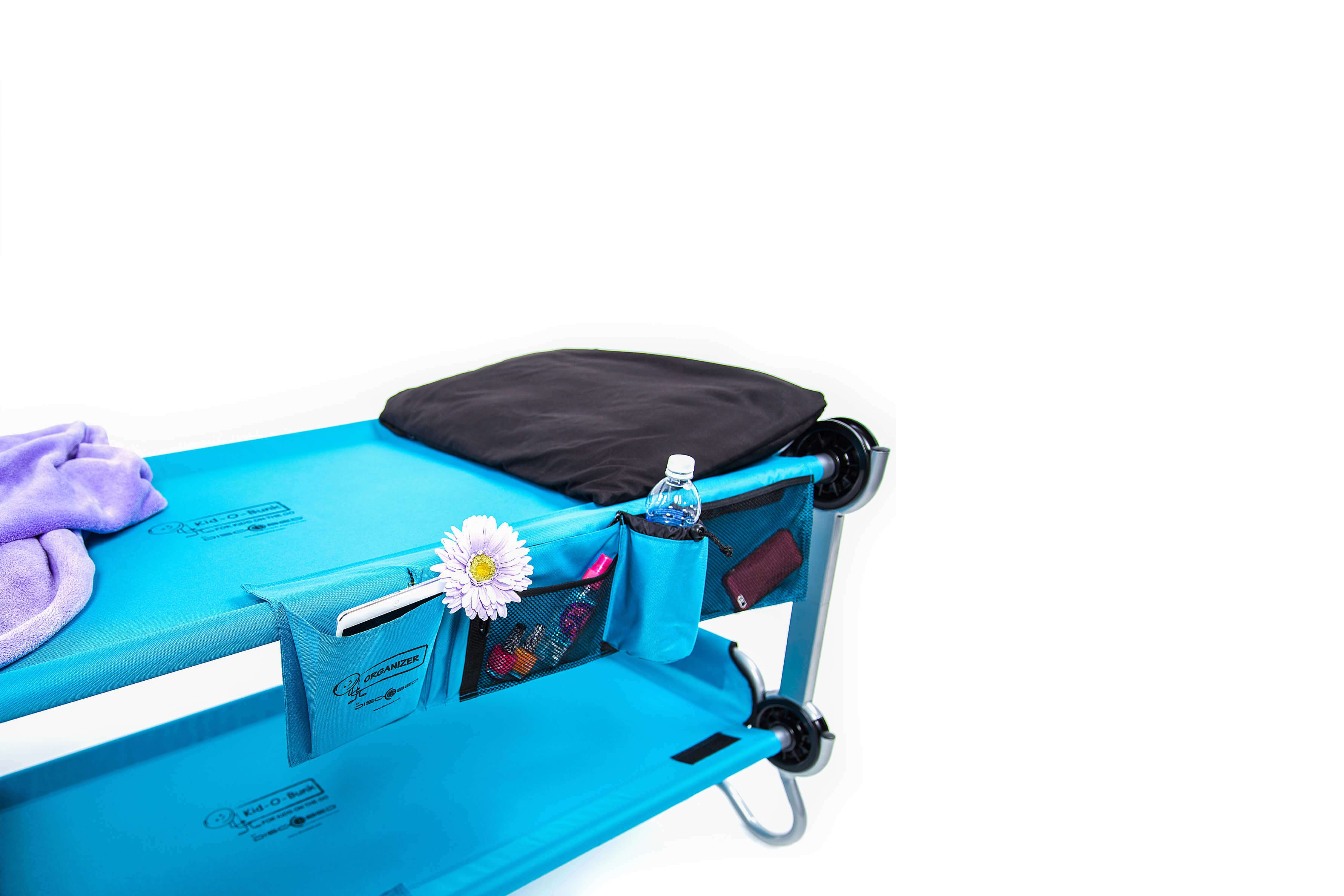 Portable kids bed packed view