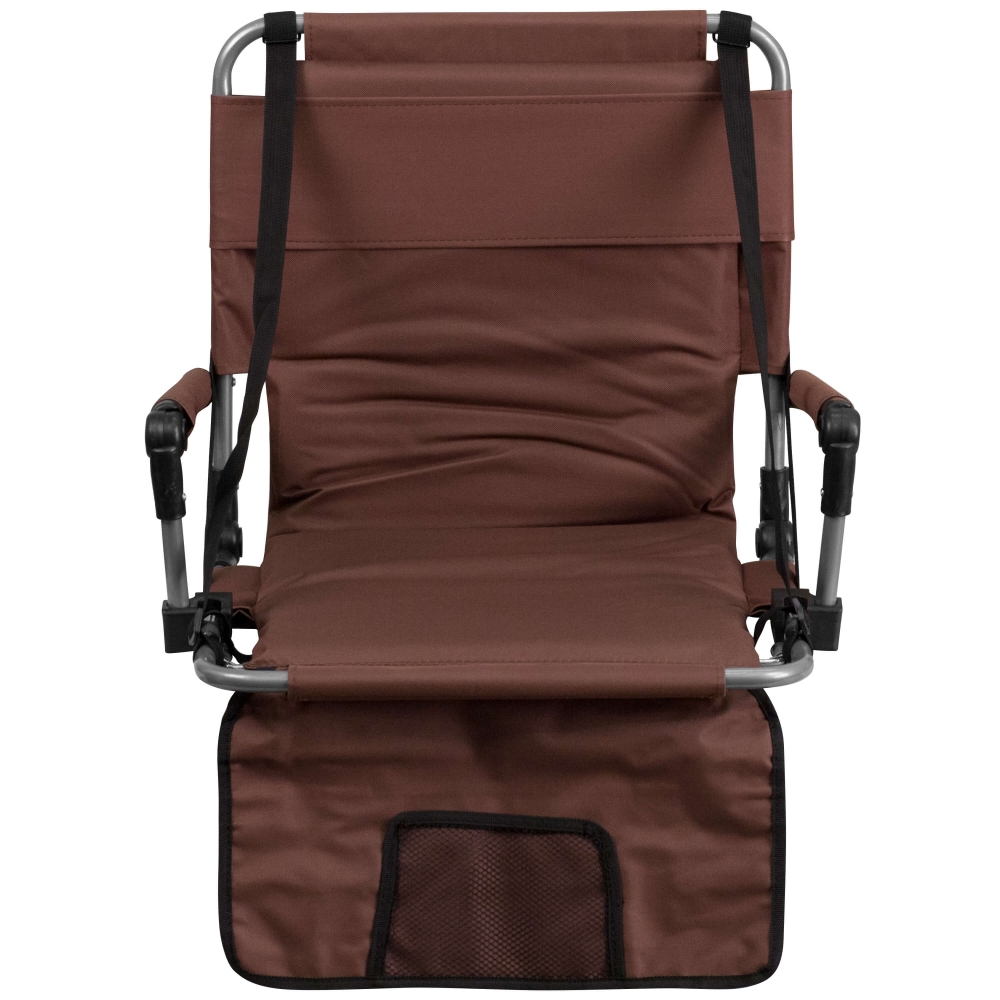 Portable travel chair front view