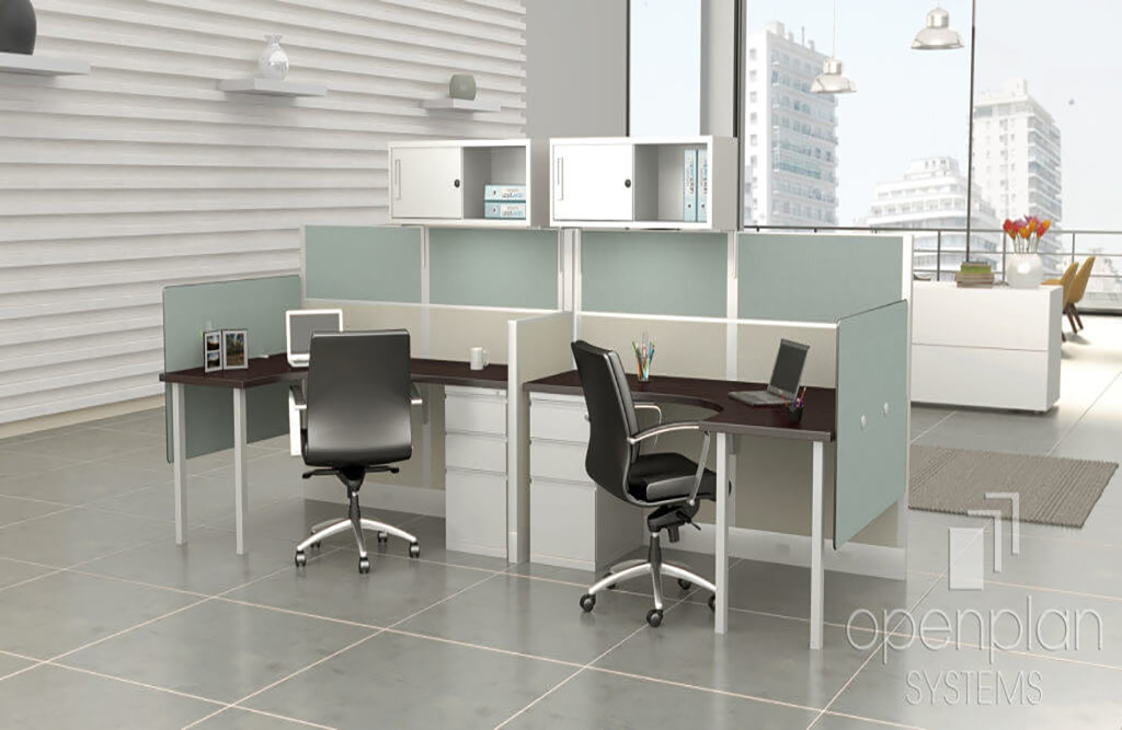 Privacy desk dividers environmental