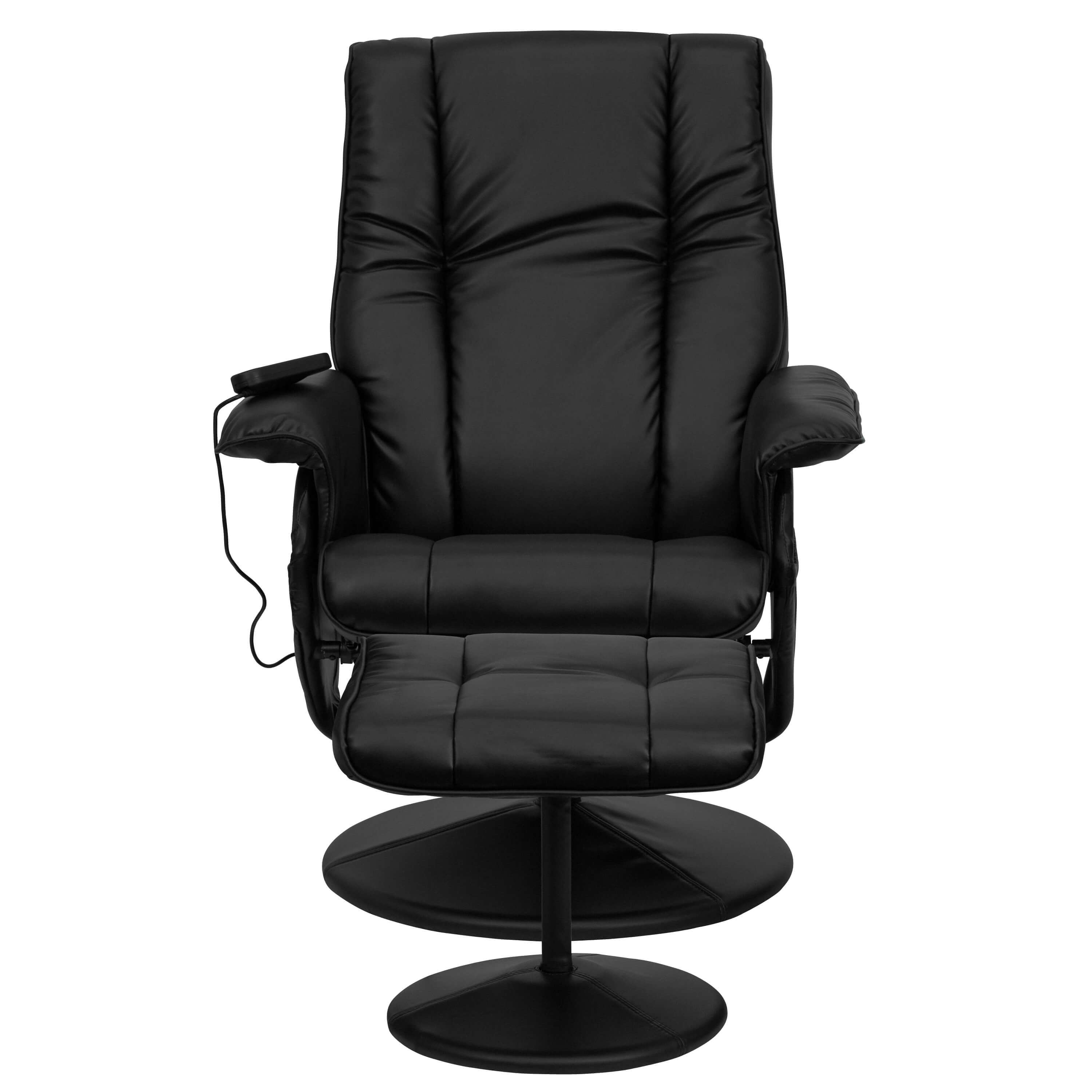 Recliner massage chair front view