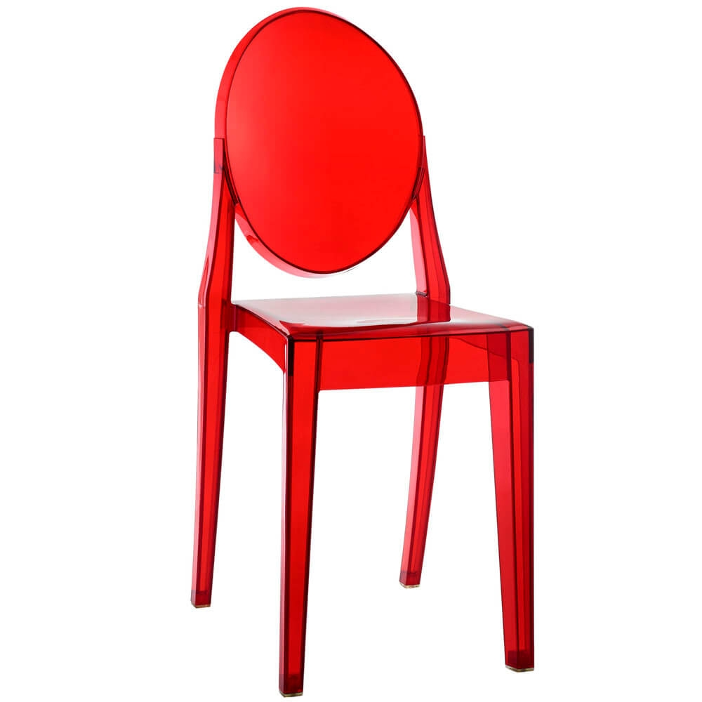 Restaurant chairs CUB EEI 122 RED MOD