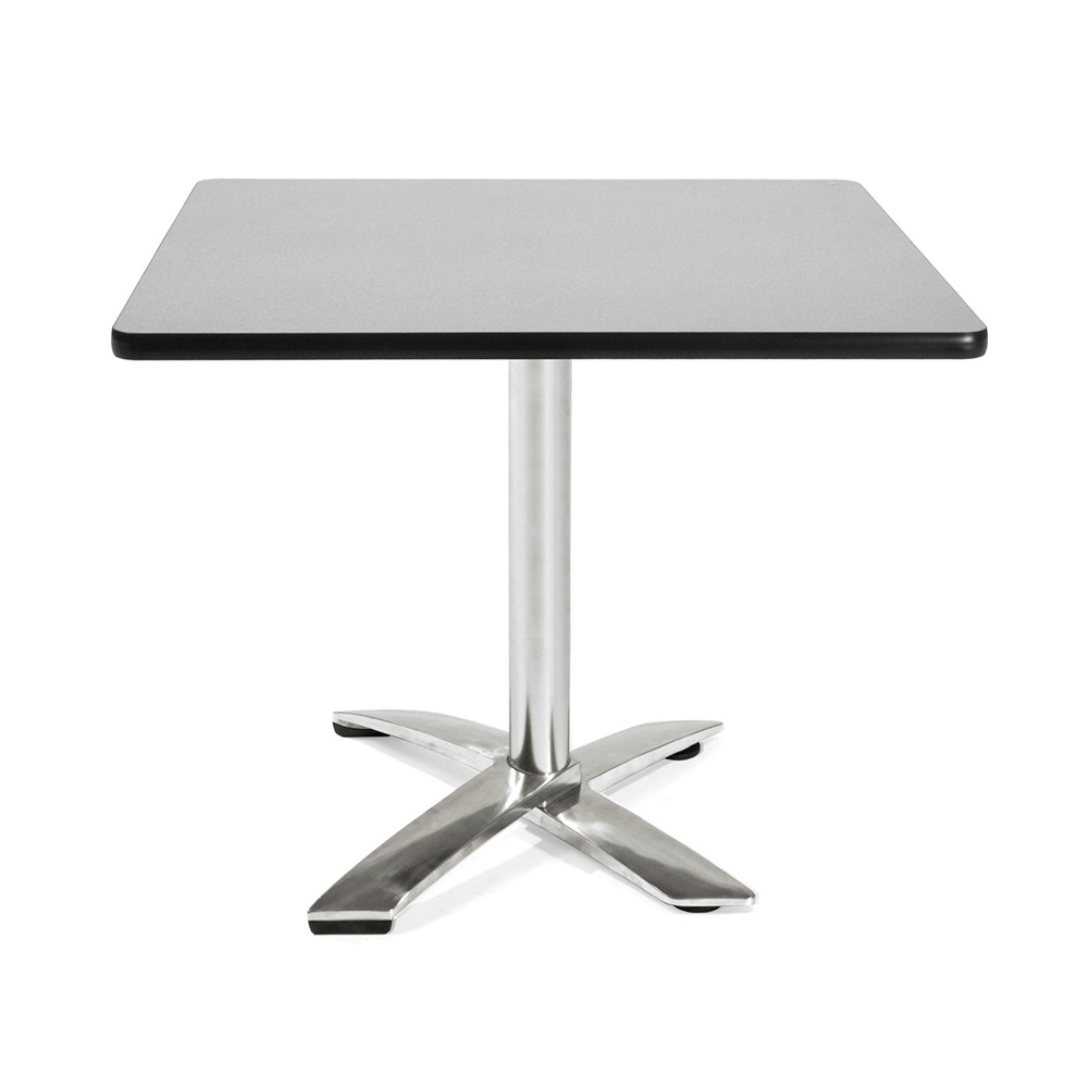 Restaurant table CUB FT36SQ GRYNB_4_GRAY_NEBULA OFM