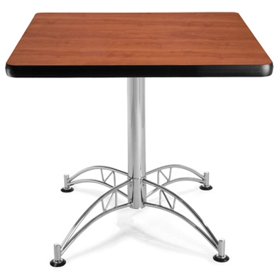 Restaurant table CUB LT36SQ CHRY_3_CHERRY OFM