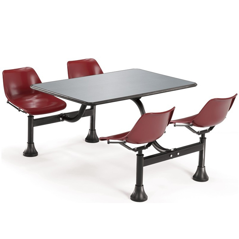 Dining Booth Elita 30 X 48 Canteen Dining Table