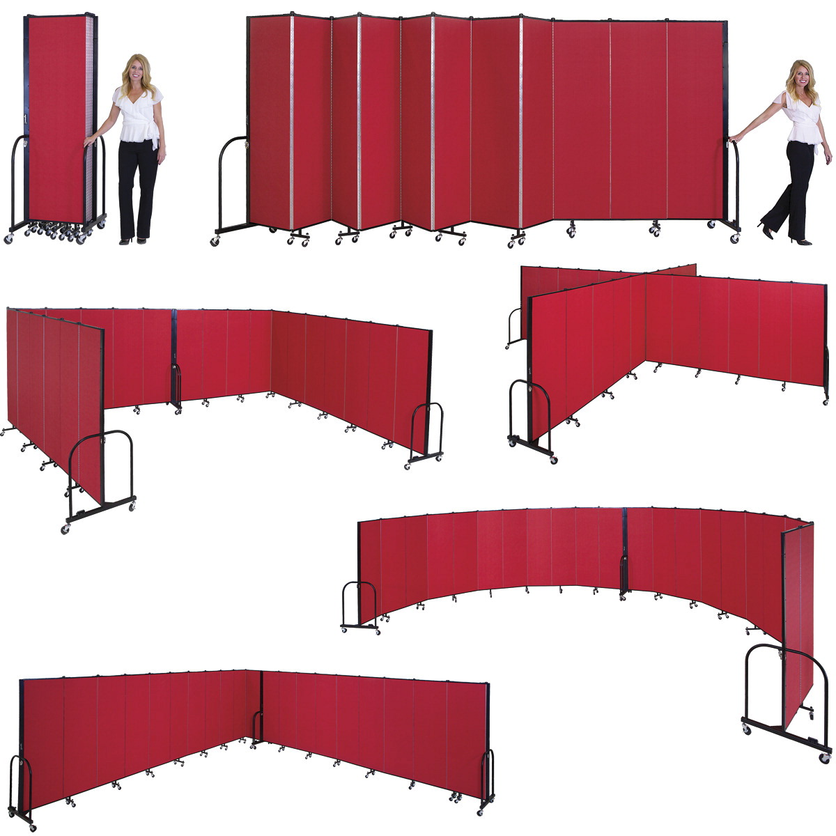 Room dividers for office environmental