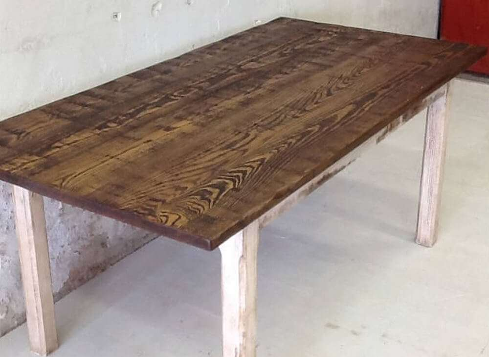 Rustic dining table rustic dinner table