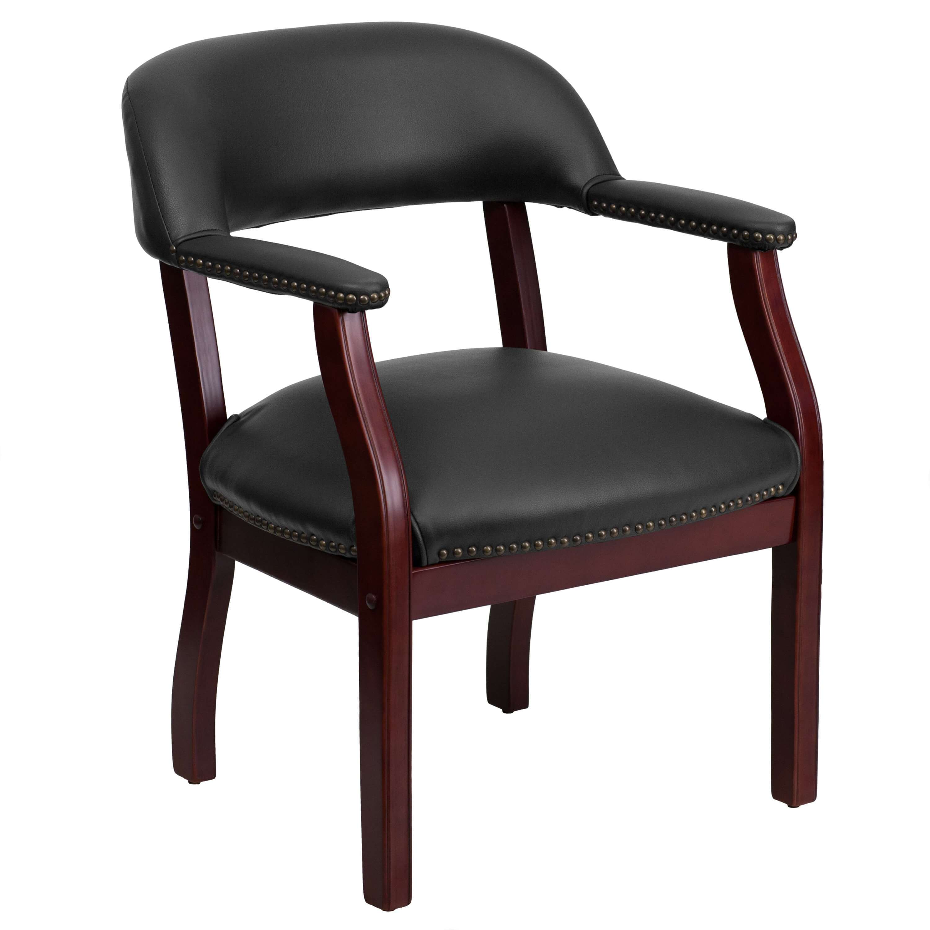 Side chairs with arms CUB B Z105 BLACK GG FLA
