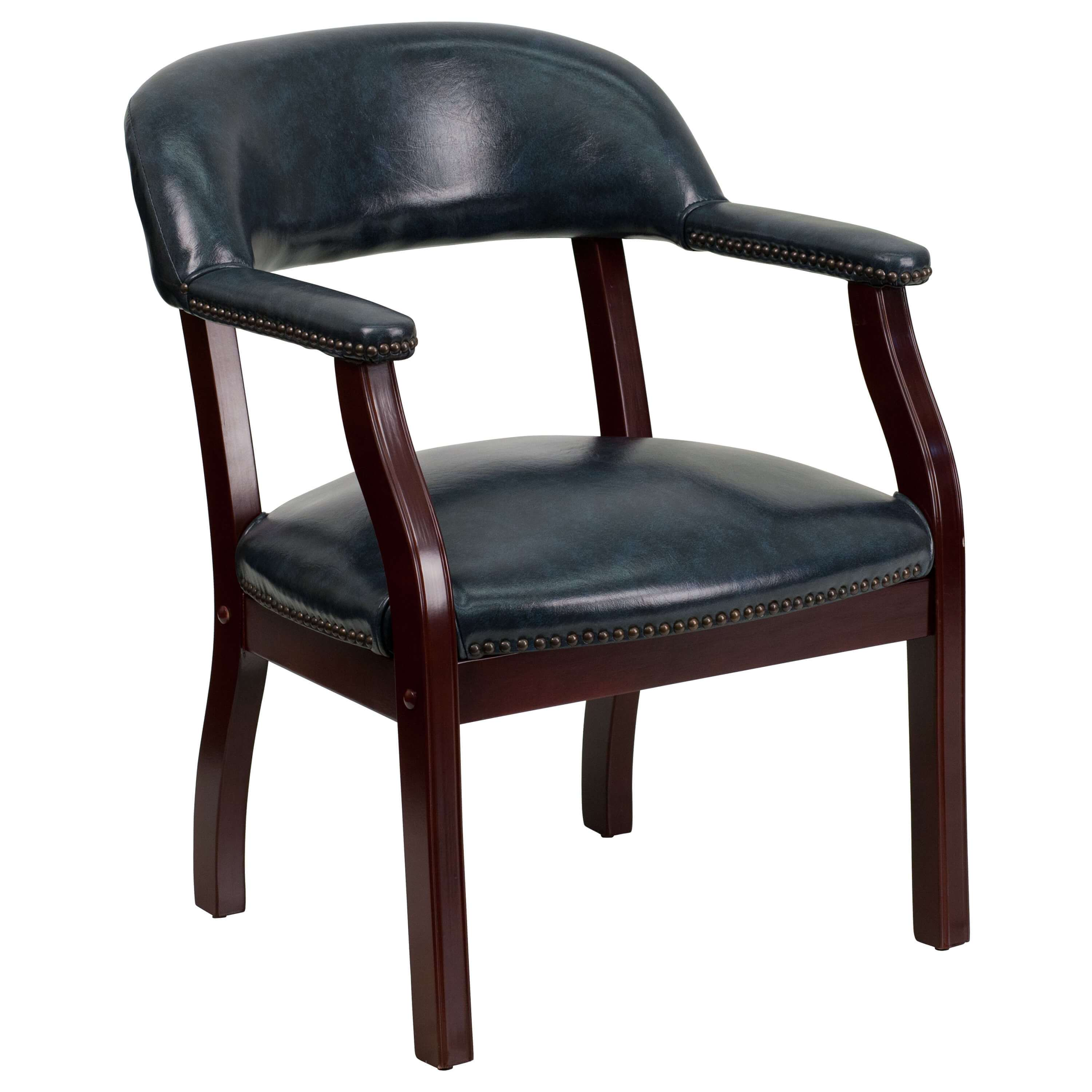 Side chairs with arms CUB B Z105 NAVY GG FLA