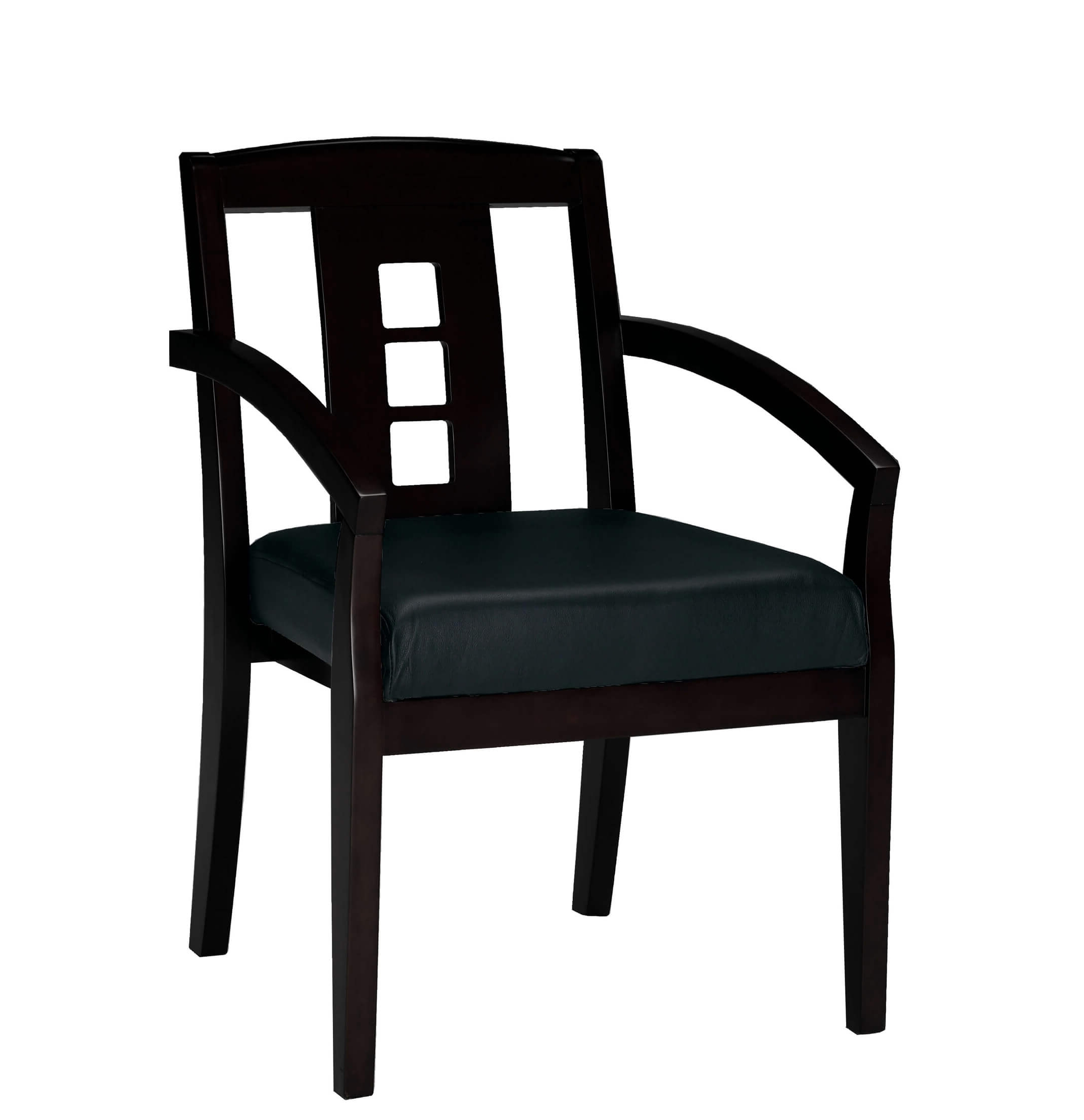 Side chairs with arms CUB VSC2ABESP YAM