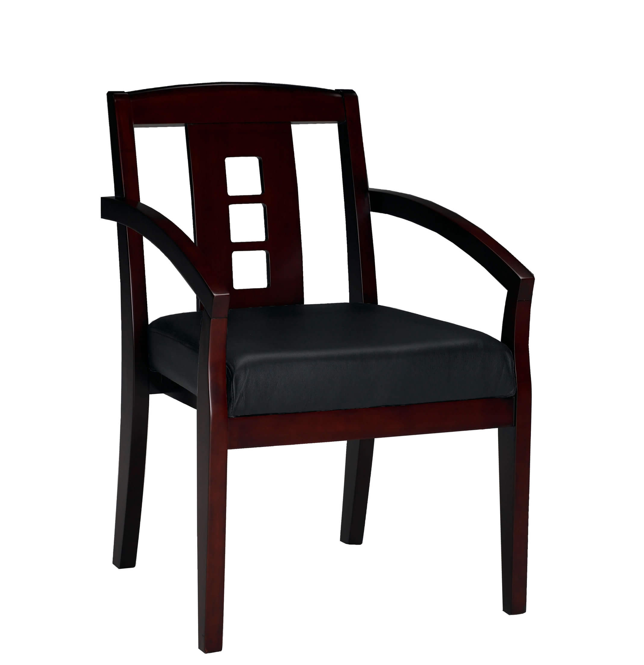 Side chairs with arms CUB VSC2ABMAH YAM