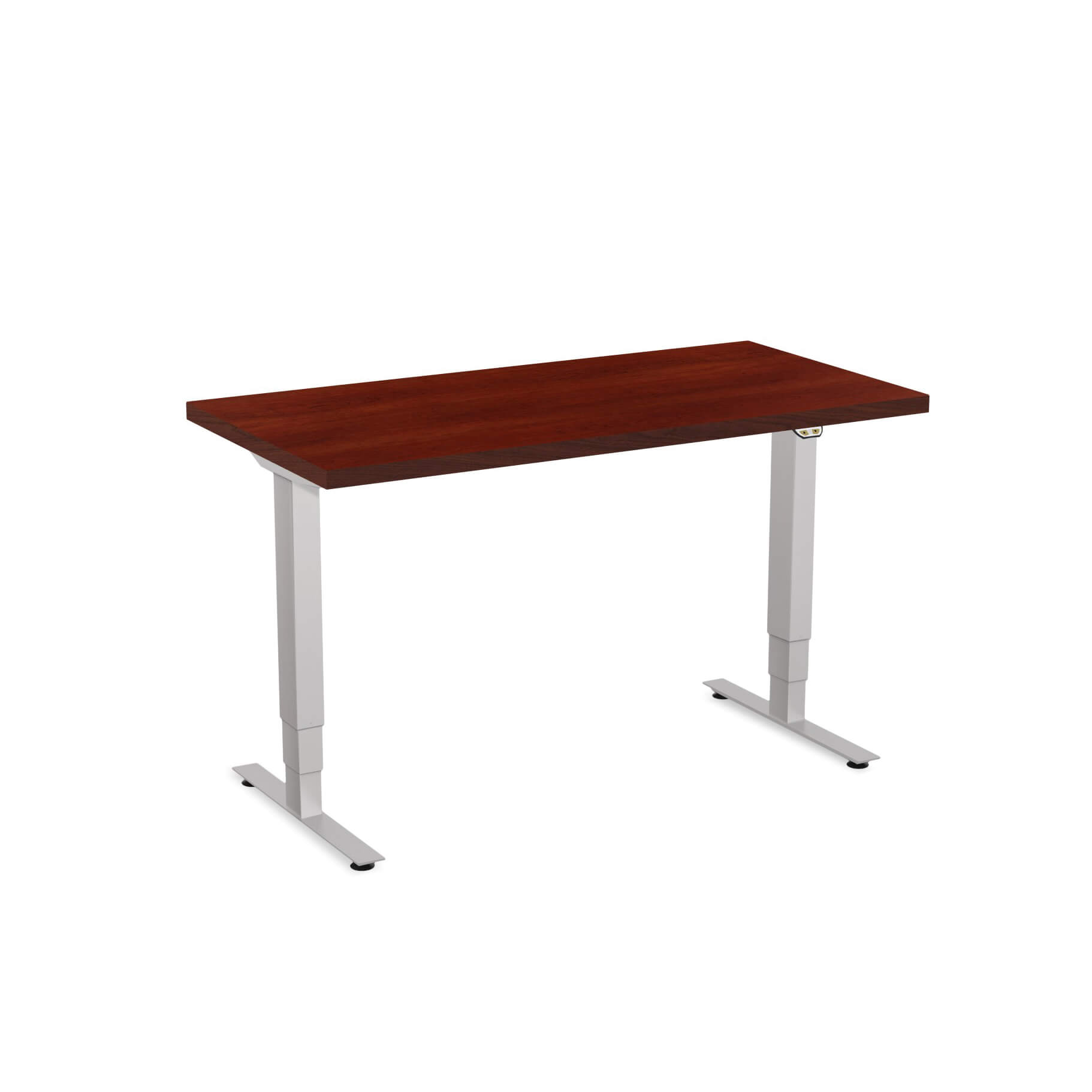 Sit stand desk adjustable CUB 1D PATR 2448 CH EPS 1