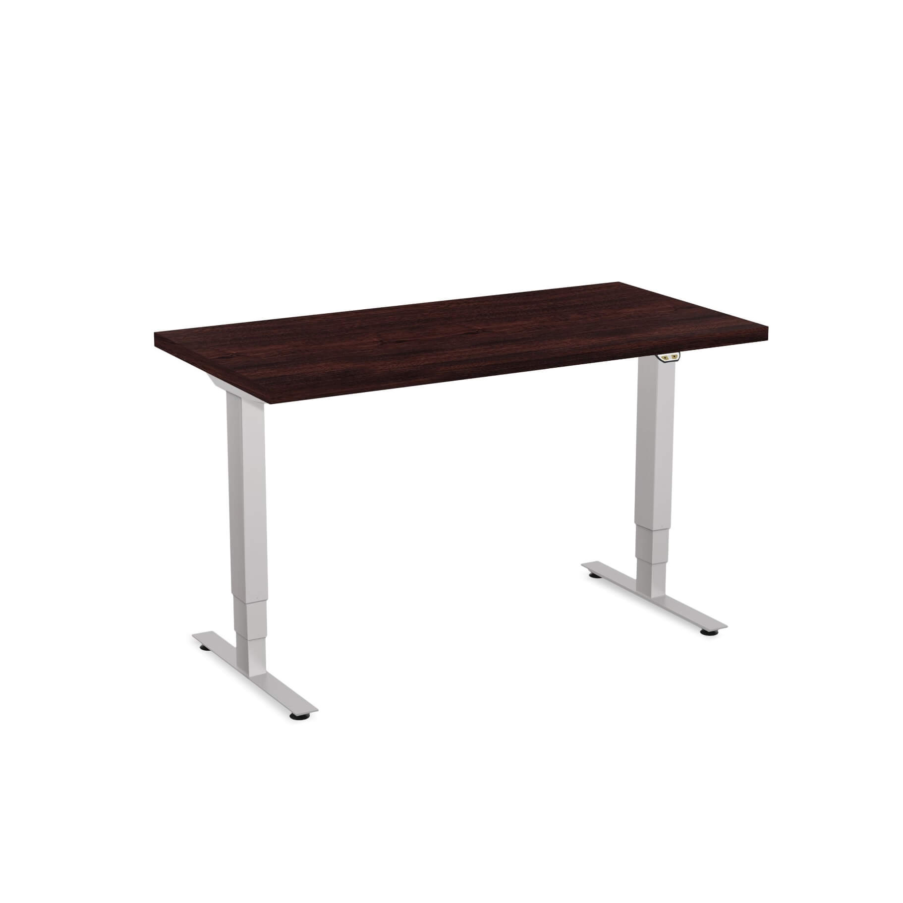 Sit stand desk adjustable CUB 1D PATR 2448 ES EPS 1